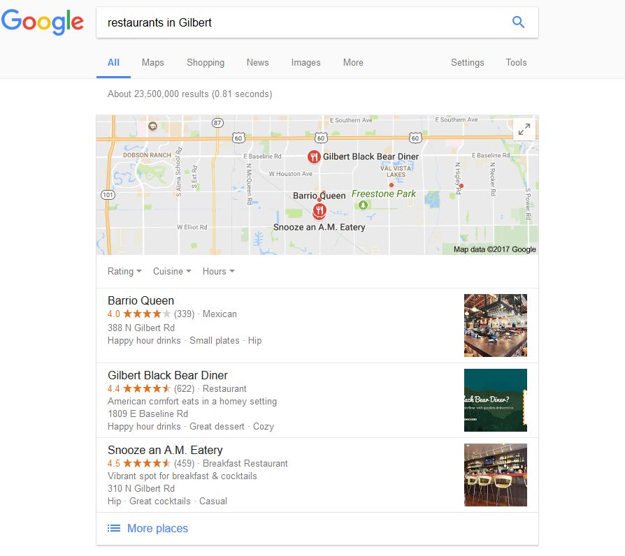 How to Get Your Google Business Listing into the Map Pack